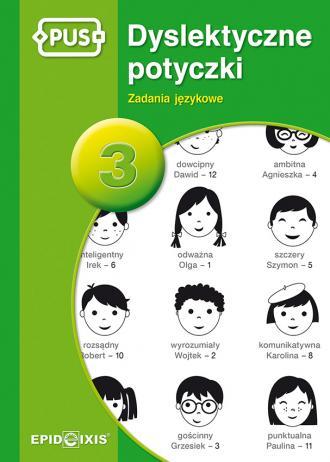 Dyslektyczne Potyczki 3. Zadania - okładka książki