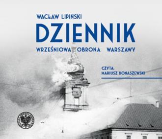 Dziennik. Wrześniowa obrona Warszawy - pudełko audiobooku