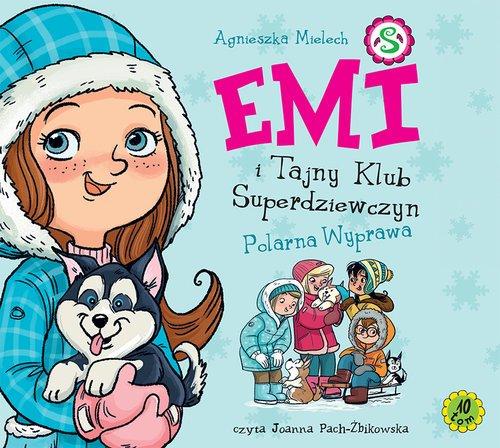 Emi i Tajny Klub Superdziewczyn. - pudełko audiobooku