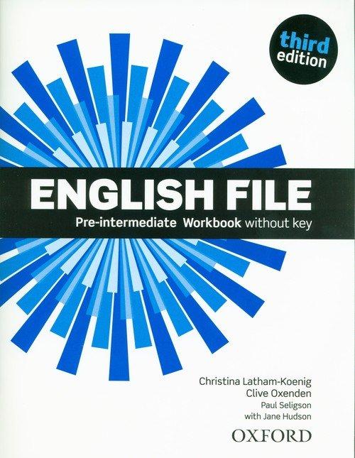 English File 3E Pre-Intermediate - okładka podręcznika