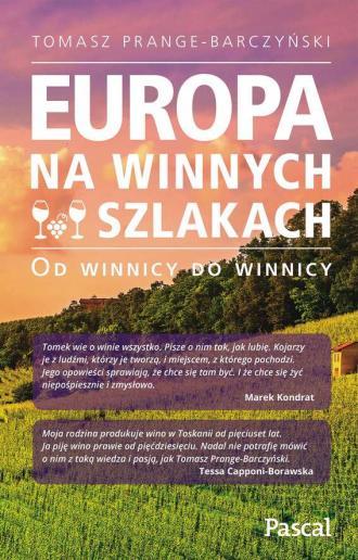 Europa na winnych szlakach. Od - okładka książki