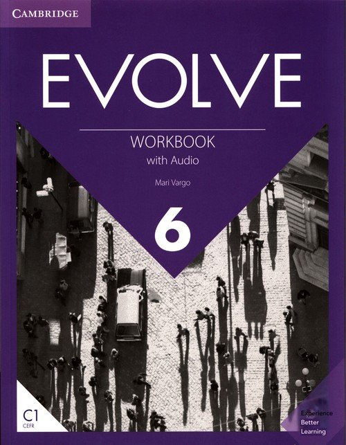 Evolve 6 Workbook with Audio - okładka podręcznika