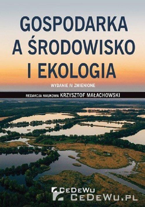 Gospodarka a środowisko i ekologia - okładka książki