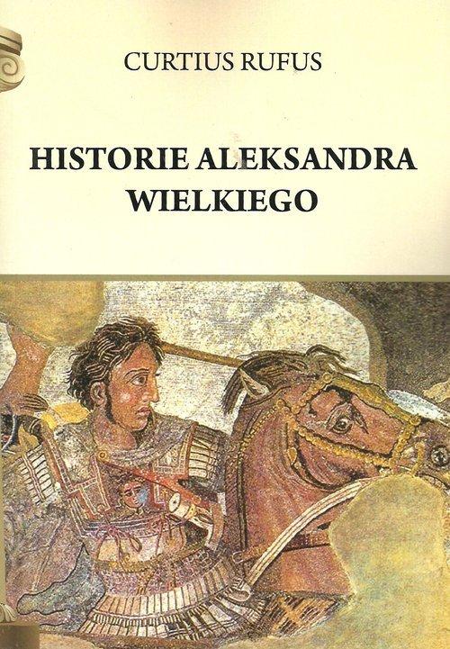 Historie Aleksandra Wielkiego - okładka książki
