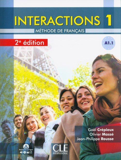 Interactions 1 Livre de léleve - okładka podręcznika