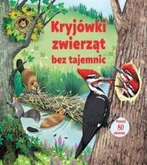 Kryjówki zwierząt bez tajemnic - okładka książki