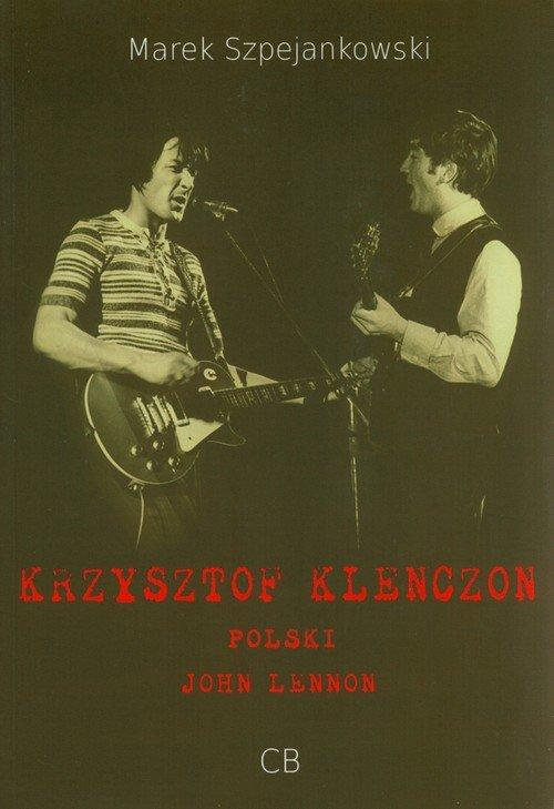 Krzysztof Klenczon - okładka książki