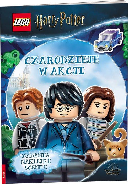 Lego Harry Potter Czarodzieje w - okładka książki