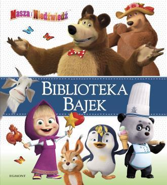 Masza i Niedźwiedź Biblioteka Bajek - okładka książki