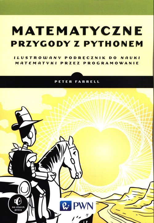 Matematyczne przygody z Pythonem. - okładka książki