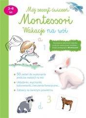Mój zeszyt ćwiczeń Montessori. - okładka książki