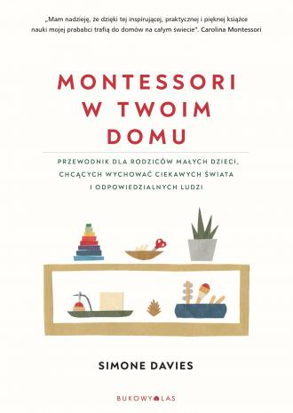Montessori w twoim domu - okładka książki