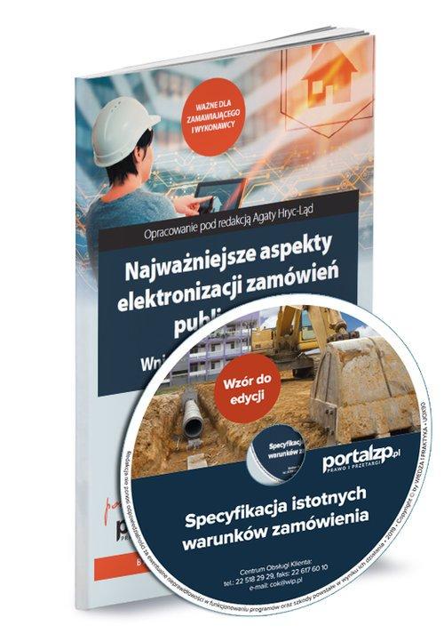 Najważniejsze aspekty elektronizacji - okładka książki