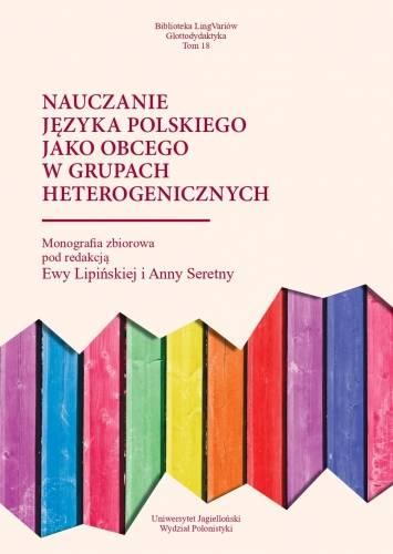 Nauczanie języka polskiego jako - okładka książki