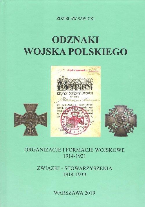 Odznaki Wojska Polskiego. Organizacje - okładka książki