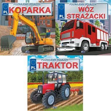 Koparka / Wóz Strażacki/ Traktor. - okładka książki