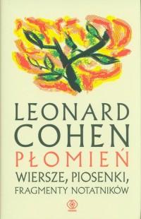 Płomień. Wiersze, piosenki, fragmenty - okładka książki