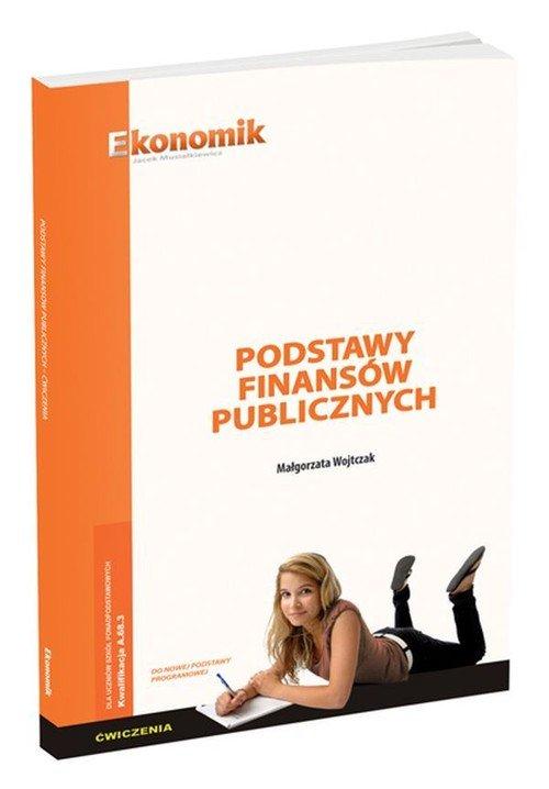 Podstawy finansów publicznych. - okładka podręcznika