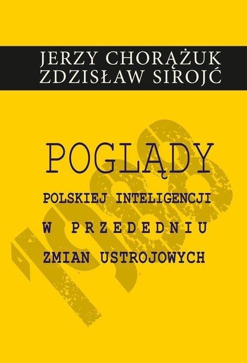 Poglądy polskiej inteligencji w - okładka książki