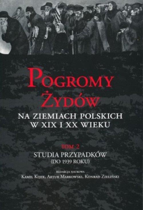 Pogromy Żydów na ziemiach polskich - okładka książki