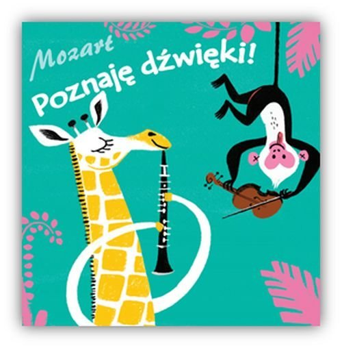 Poznaję dźwięki II Mozart - okładka książki