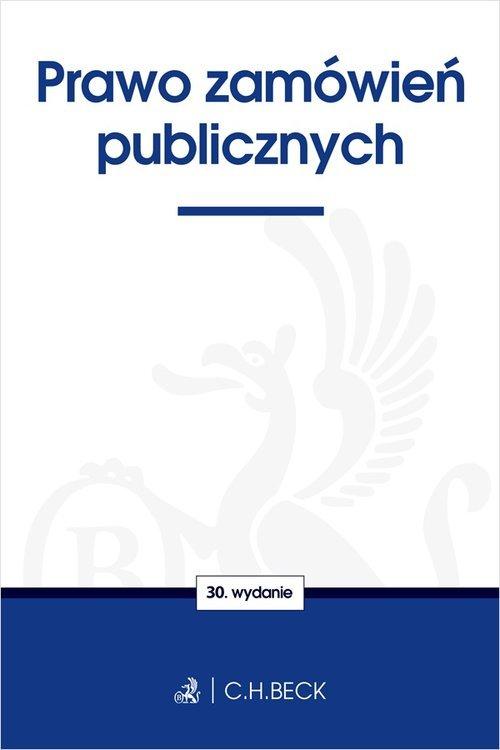 Prawo zamówień publicznych - okładka książki