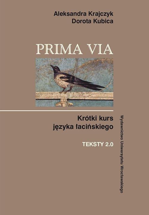 Prima Via. Krótki kurs języka łacińskiego. - okładka podręcznika