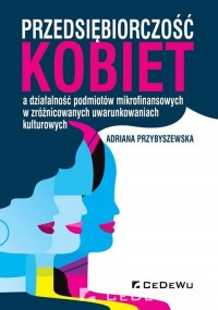 Przedsiębiorczość kobiet a działalność - okładka książki