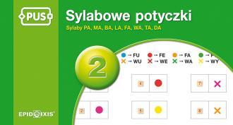 PUS Sylabowe potyczki 2. Sylaby - okładka książki
