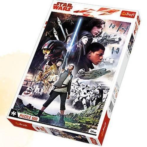 Puzzle 500 Star Wars Ostatni Jedi - zdjęcie zabawki, gry
