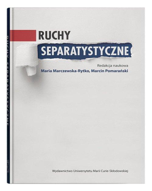 Ruchy separatystyczne - okładka książki