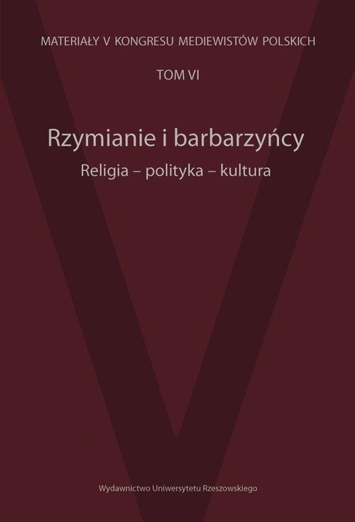 Rzymianie i barbarzyńcy. Religia, - okładka książki