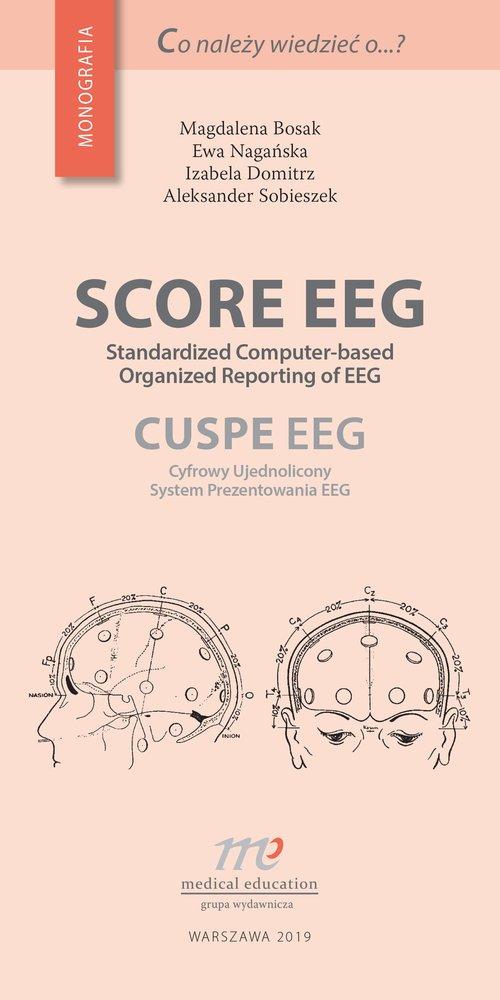 Score EEG. Seria: Co należy wiedzieć - okładka książki