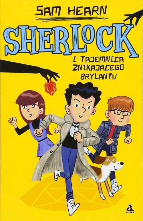 Sherlock i tajemnica znikającego - okładka książki