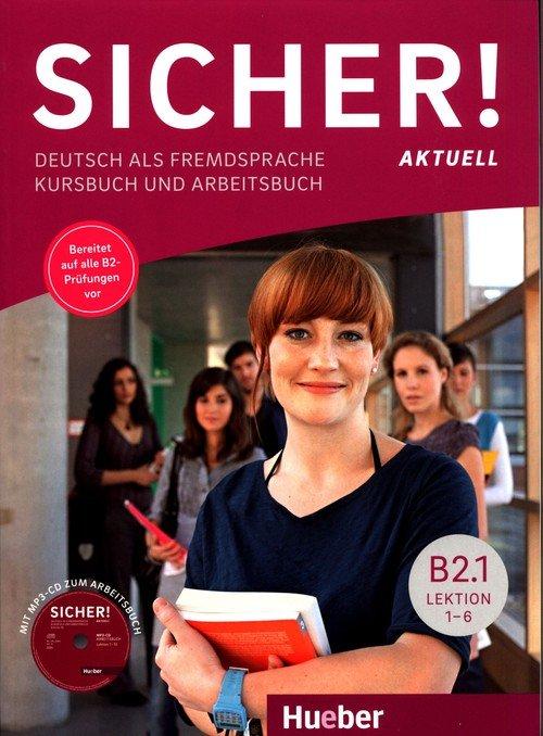 Sicher! Aktuell B2.1 Podręcznik - okładka podręcznika