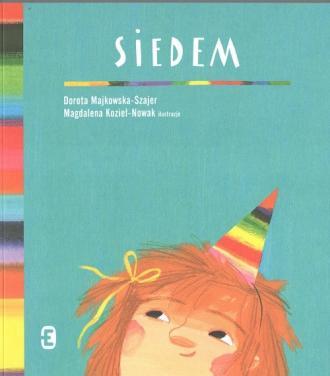 Siedem - okładka książki
