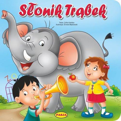 Słonik trąbek - okładka książki