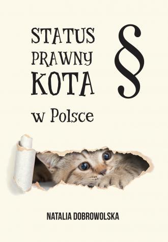 Status prawny kota w polsce - okładka książki