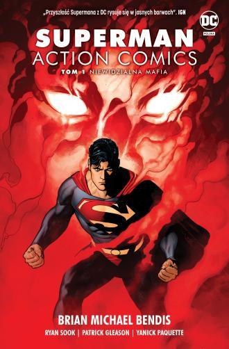 Superman Action Comics. Tom 1. - okładka książki