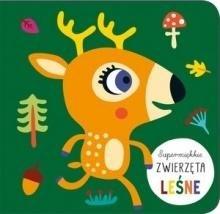 Supermiękkie Zwierzęta leśne - okładka książki