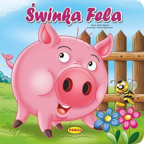 Świnka fela - okładka książki