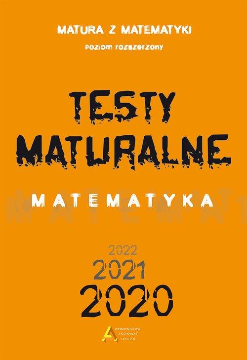 Testy Maturalne. Matematyka. Poziom - okładka podręcznika