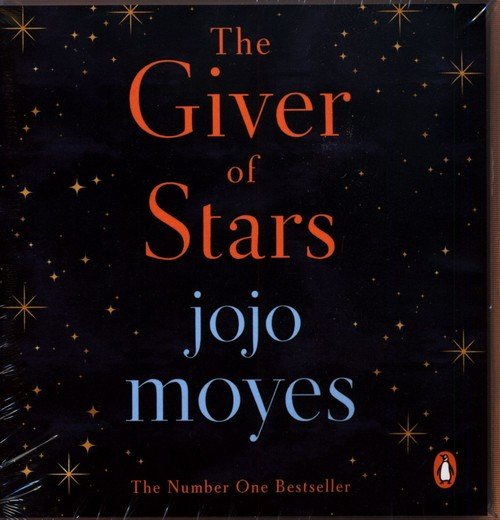 The Giver of Stars - pudełko audiobooku