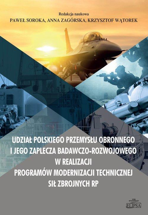 Udział polskiego przemysłu obronnego - okładka książki