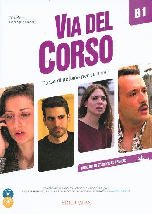 Via del Corso B1 Libro dello studente - okładka podręcznika
