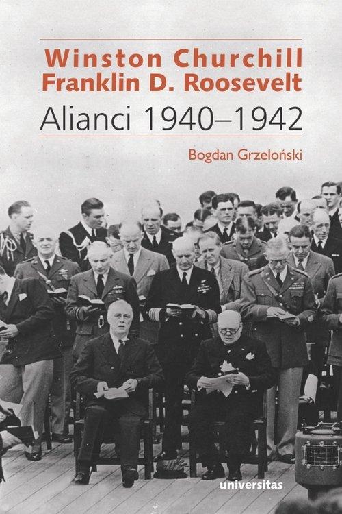 Winston Churchill i Franklin D. - okładka książki
