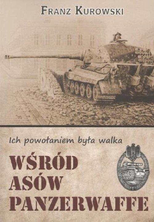 Wśród asów Panzerwaffe - okładka książki