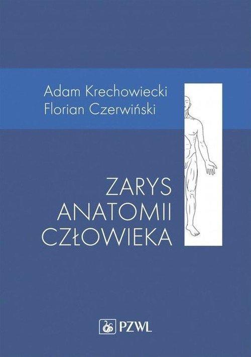 Zarys anatomii człowieka - okładka książki