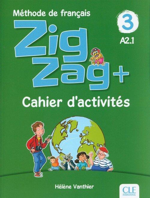 Zigzag+ 3 Cahier dactivités - okładka podręcznika