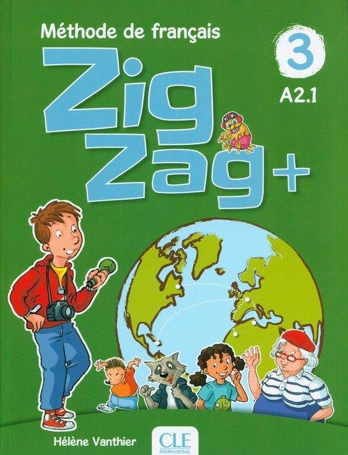 Zigzag +3 Livre de léleve - okładka podręcznika